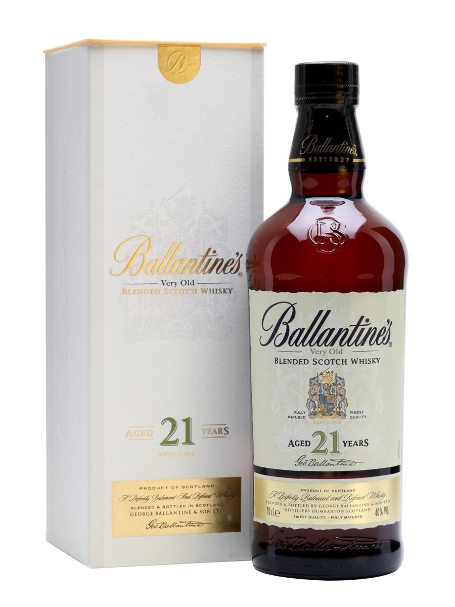 Kết quả hình ảnh cho BALLANTINE'S 21