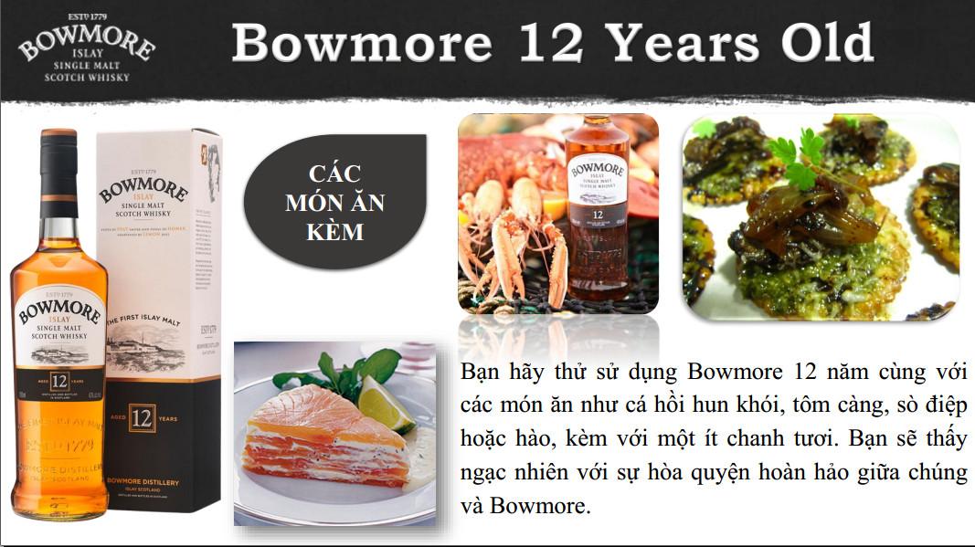 Bowmore 12 - mon an