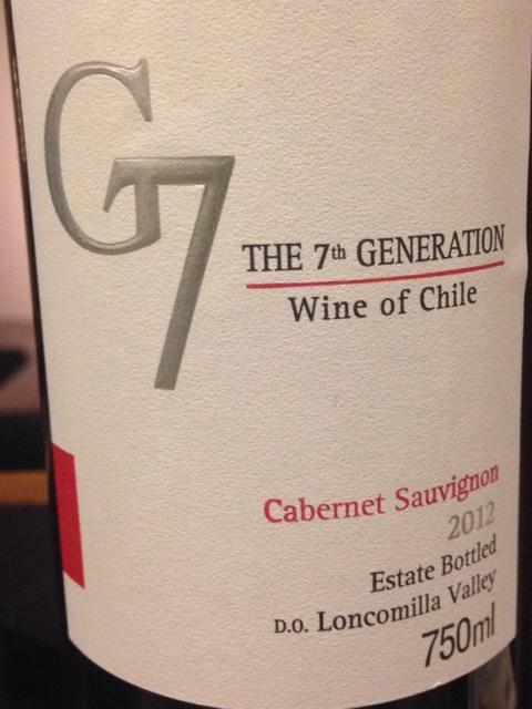 Kết quả hình ảnh cho g7 cabernet sauvignon
