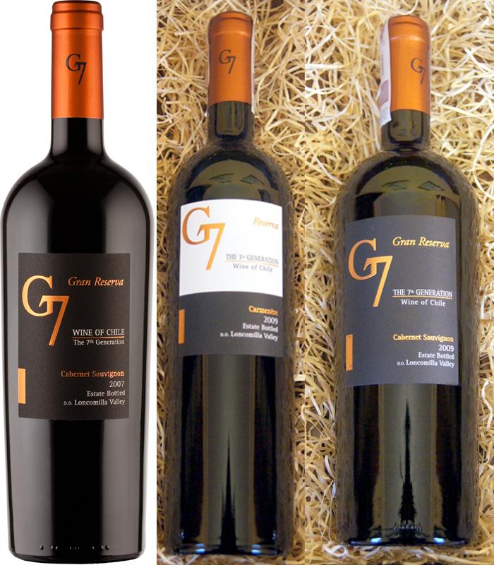 Kết quả hình ảnh cho g7 gran reserva cabernet sauvignon
