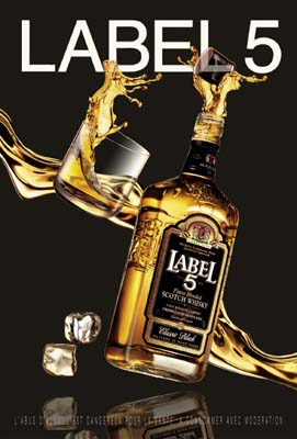rượu label 5