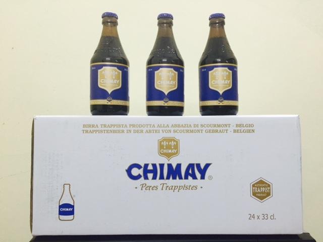 bia Chimay - ket