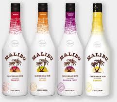 Bộ sưu tập các loại rượu sữa Malibu