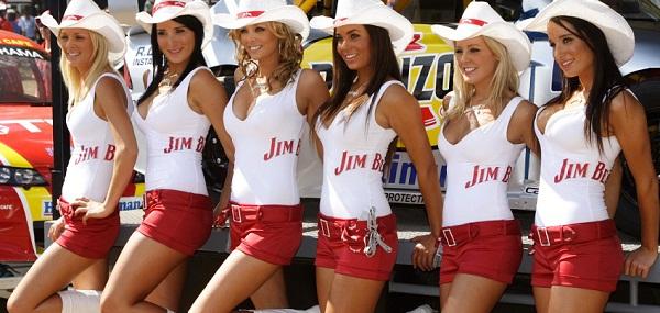 người mẫu quảng cáo rượu JimBeam