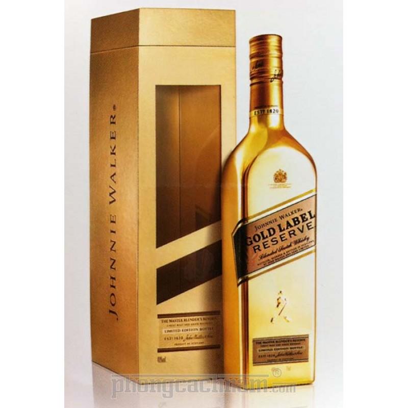 Rượu Johnnie Walker Gold Reserve Limited Edition,Bán Rượu