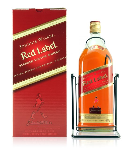Johnie Walker red label 4.5 l
