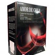 RƯỢU VANG AMOR DE CHILE HỘP 3 LÍT & 5 LÍT