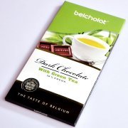 Dark Chocolate with Green Tea