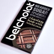 No added sugar dark chocolate 72%