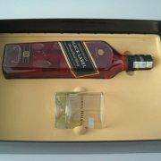 Hộp rượu phun nhung Johnnie walker