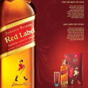 Rượu Johnnie Walker Red Label hộp quà