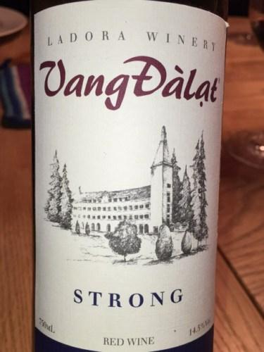 Kết quả hình ảnh cho vang đà lạt strong wine ladofoods 2017