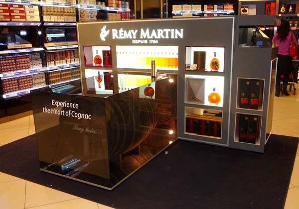 remy martin hologram technology schiphol jan12