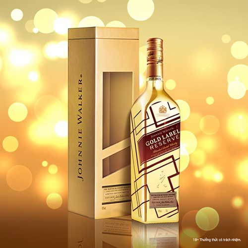 Kết quả hình ảnh cho Johnnie Walker Gold Label Reserve
