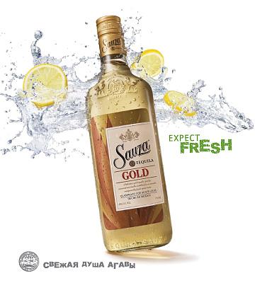sauza gold poster