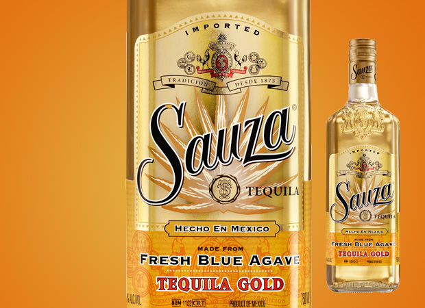 sauza tequila gold poster