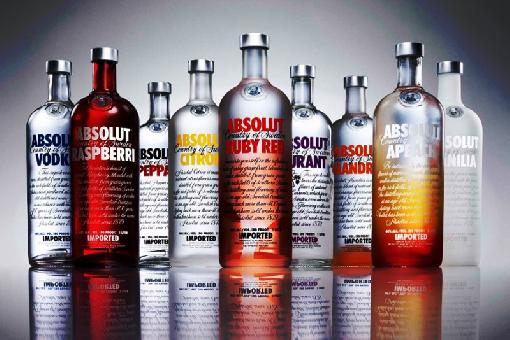 absolut vodka-family